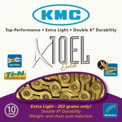 GRANDINĖ KMC X10EL GOLD