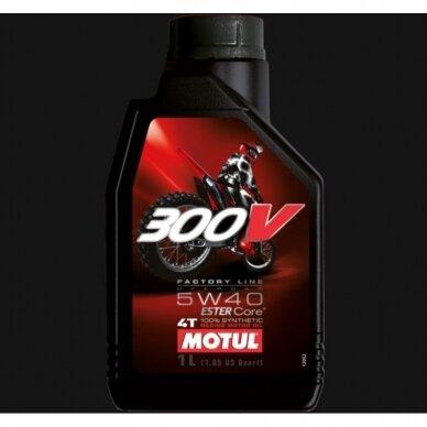 Motul 300V FACTORY LINE OFF ROAD 5W40