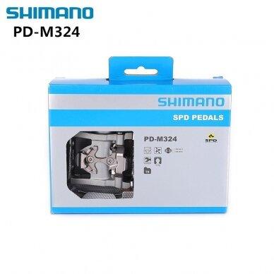 Shimano PEDALAI MTB PD-M324 SPD 2