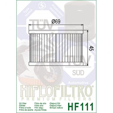Tepalo filtras HF111 2