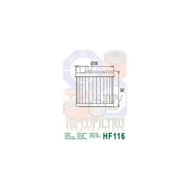 Tepalo filtras HF116 2