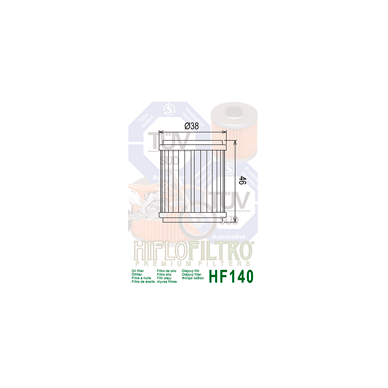 Tepalo filtras HF140 2