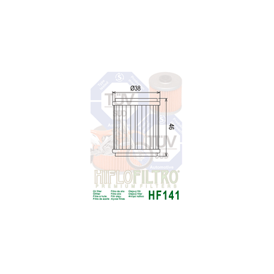 Tepalo filtras HF141 2
