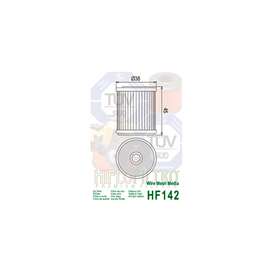 Tepalo filtras HF142 2