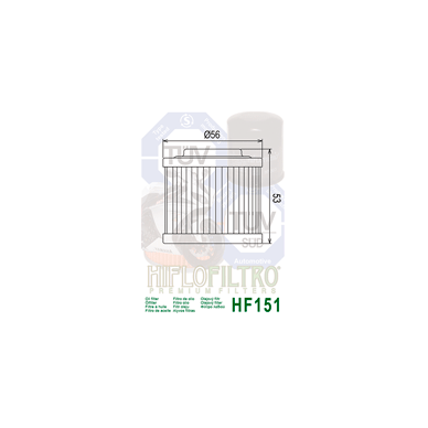 Tepalo filtras HF151 2