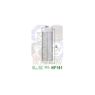 Tepalo filtras HF161 2