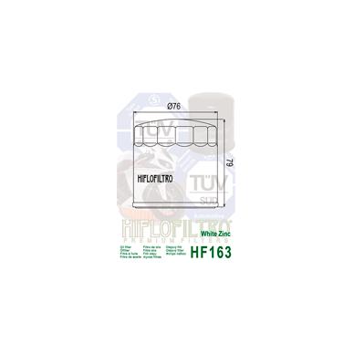 Tepalo filtras HF163 2