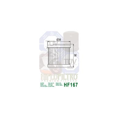 Tepalo filtras HF167 2