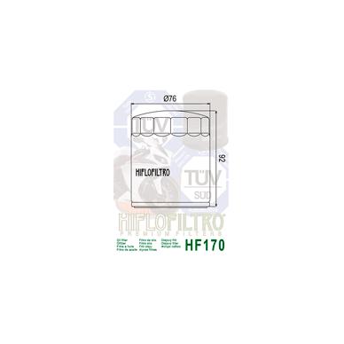 Tepalo filtras HF170B 2