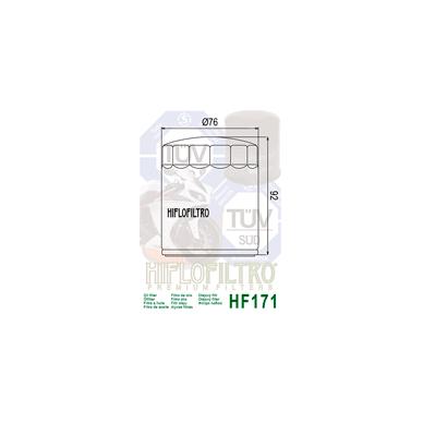 Tepalo filtras HF171B 2