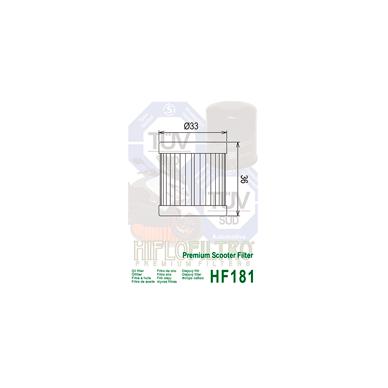 Tepalo filtras HF181 2