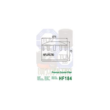 Tepalo filtras HF184 2