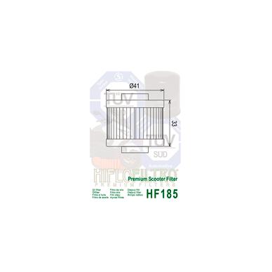 Tepalo filtras HF185 2