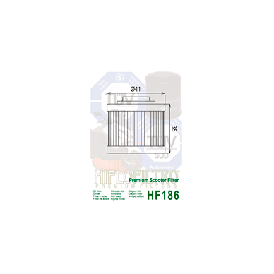 Tepalo filtras HF186 2