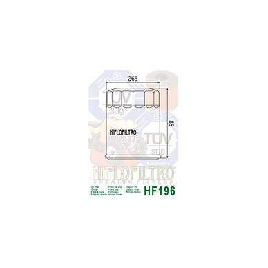 Tepalo filtras HF196 2
