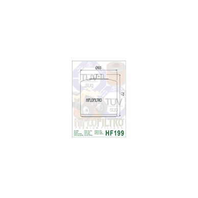 Tepalo filtras HF199 2
