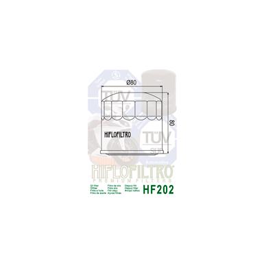 Tepalo filtras HF202 2