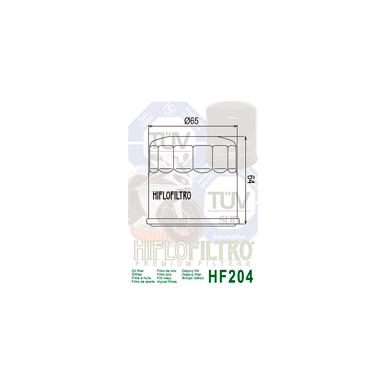 Tepalo filtras HF204 2