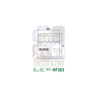 Tepalo filtras HF303 2