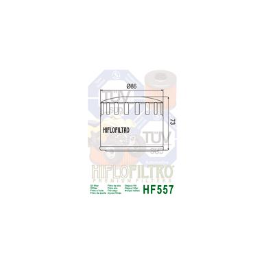 Tepalo filtras HF557 2