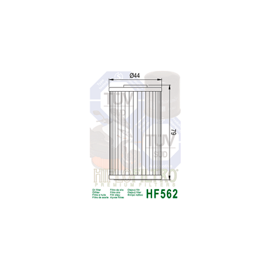 Tepalo filtras HF562 2