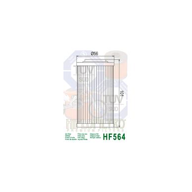 Tepalo filtras HF564 2