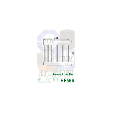 Tepalo filtras HF566 2