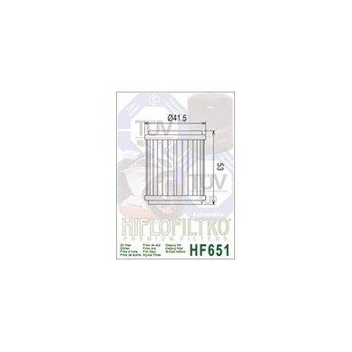 Tepalo filtras HF651 2