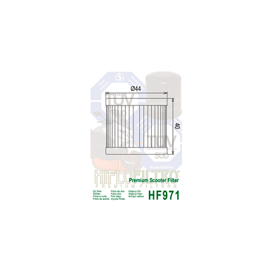 Tepalo filtras HF971 2