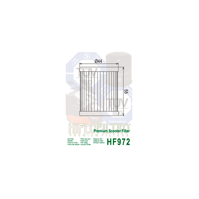 Tepalo filtras HF972 2