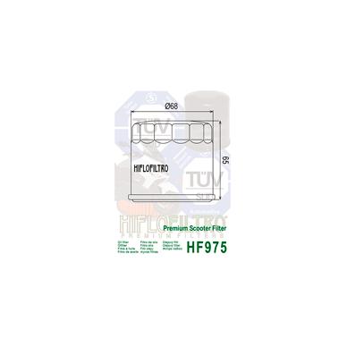 Tepalo filtras HF975 2