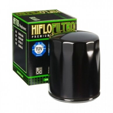Tepalo filtras HIFLOFILTRO HF170CRC RACING , chromas