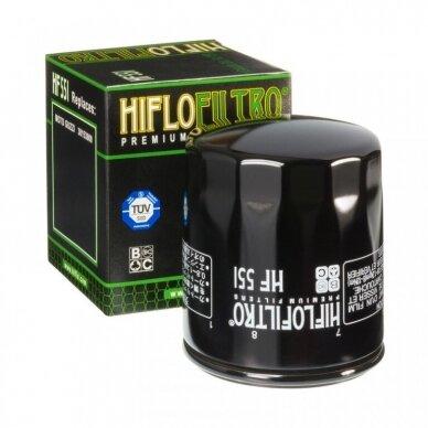 Tepalo filtras HIFLOFILTRO HF551