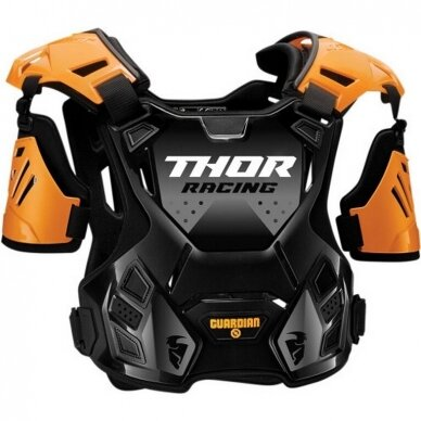 THOR GUARDIAN BLACK/ORANGE šarvai